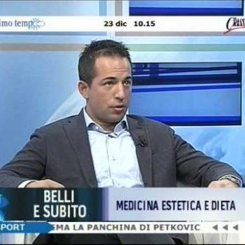 Medicina estetica e dieta, Dr Alessandro Dalla Vedova ospite a Belli e Subito