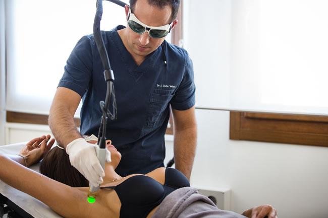 Medicina estetica e laserterapia