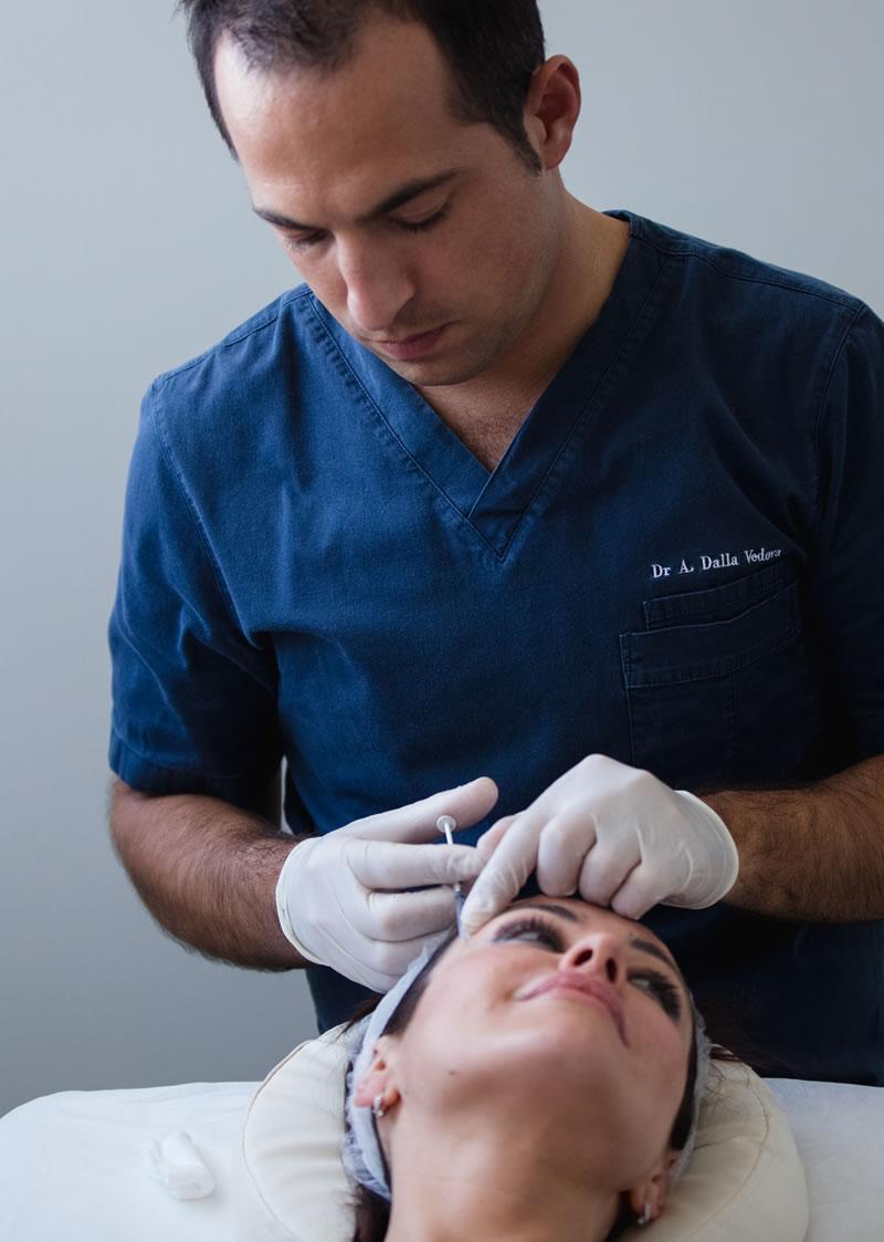 Trattamenti di medicina estetica viso